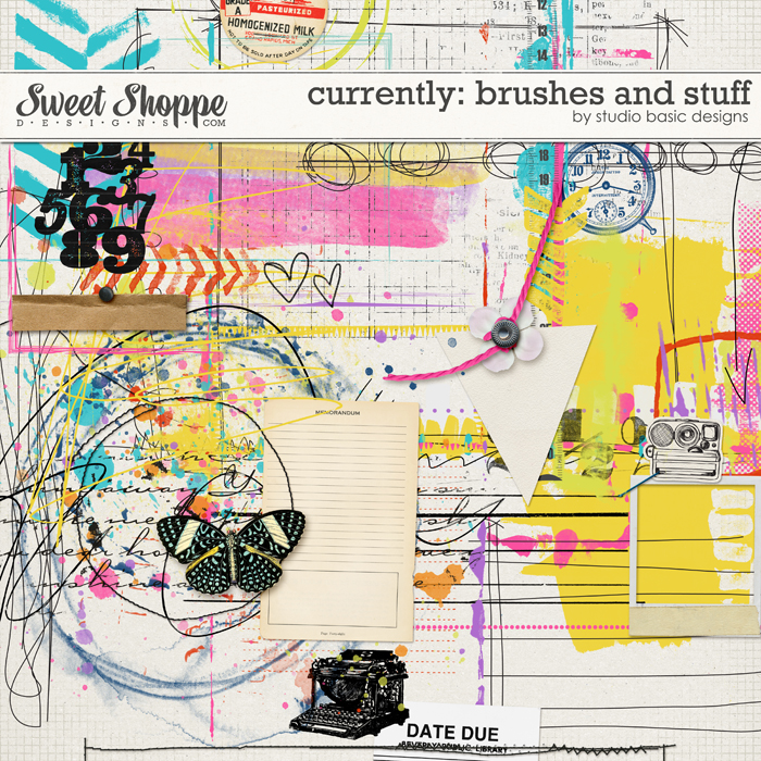 Currently: Brushes And Stuff by Studio Basic