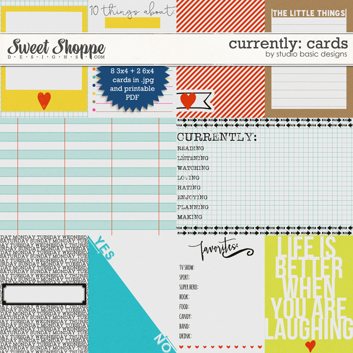 Currently: Cards by Studio Basic