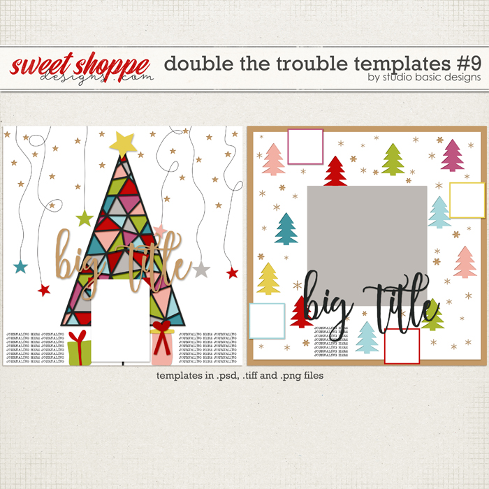 Double The Trouble Templates #9 by Studio Basic