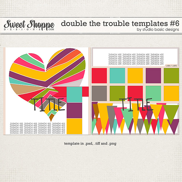 Double The Trouble Templates #6 by Studio Basic