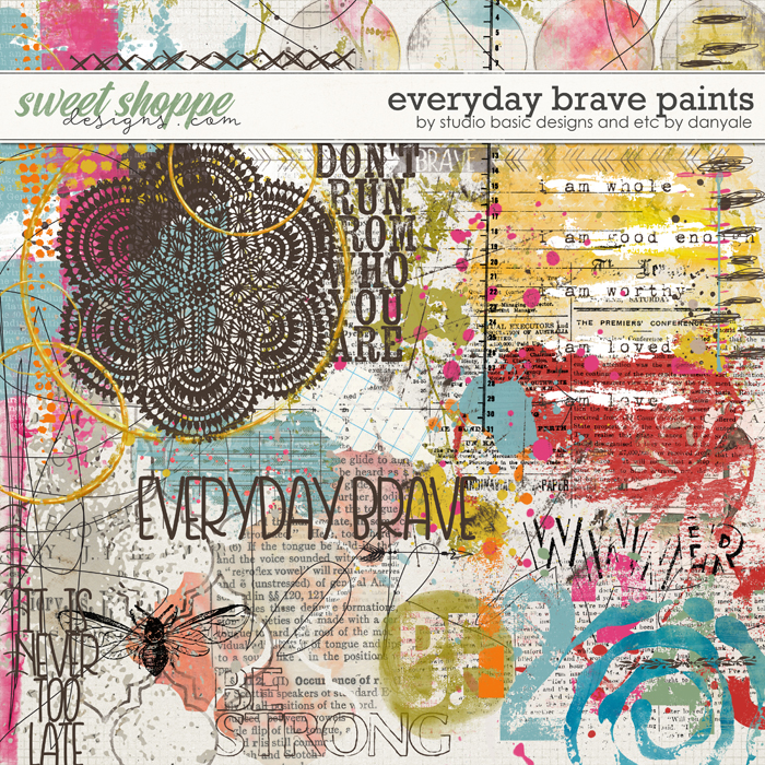 Everyday Brave Paints by Studio Basic and Etc. by Danyale