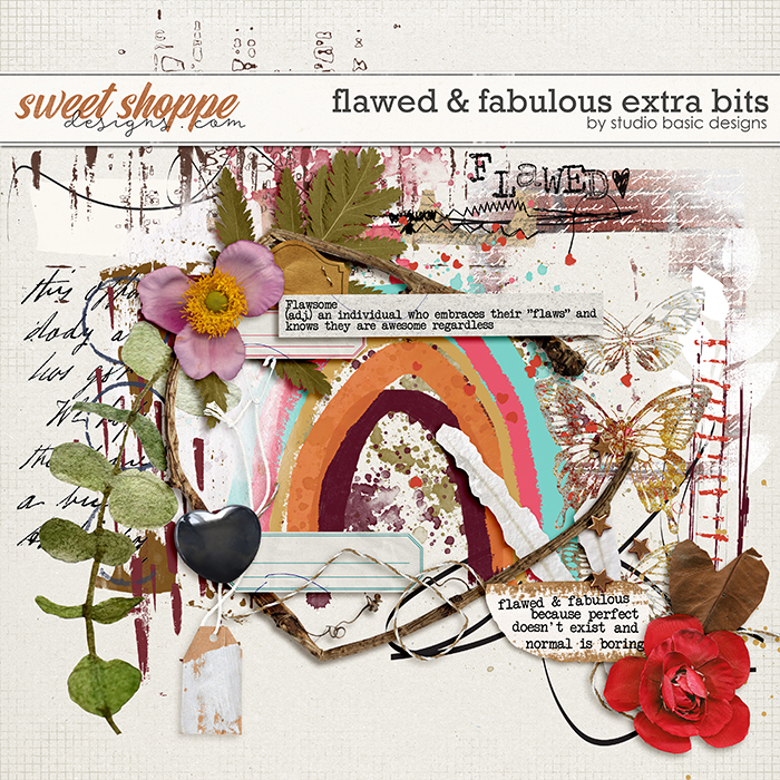 Flawed & Fabulous Extra Bits by Studio Basic
