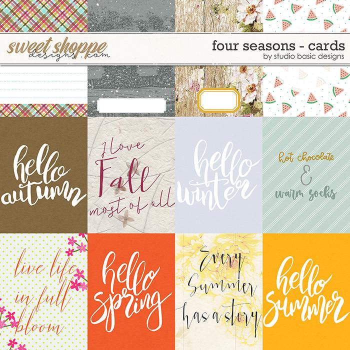 Four Seasons Cards by Studio Basic