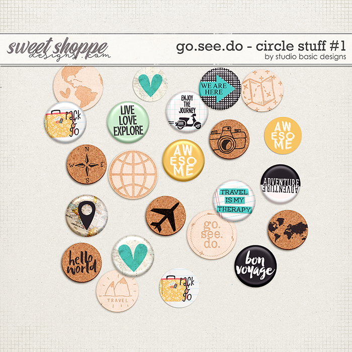 Go.See.Do Circle Stuff #1 by Studio Basic