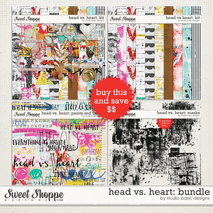 Head vs. Heart: Bundle by Studio Basic