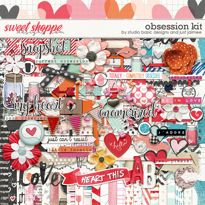 Obsession Kit by Studio Basic and Just Jaimee