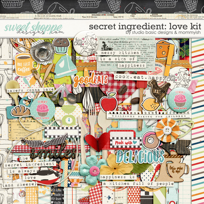 Secret Ingrediente: Love Kit by Studio Basic and Mommyish