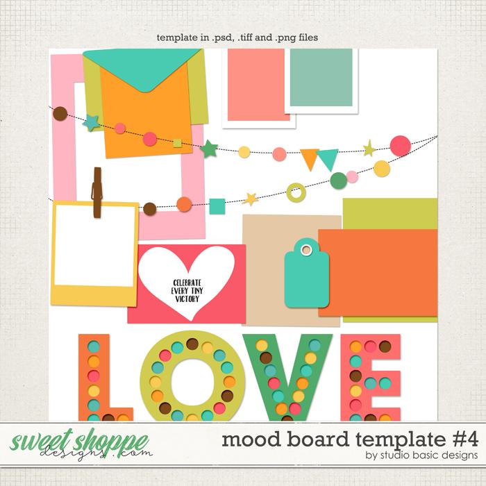 Mood Board Template #4 by Studio Basic