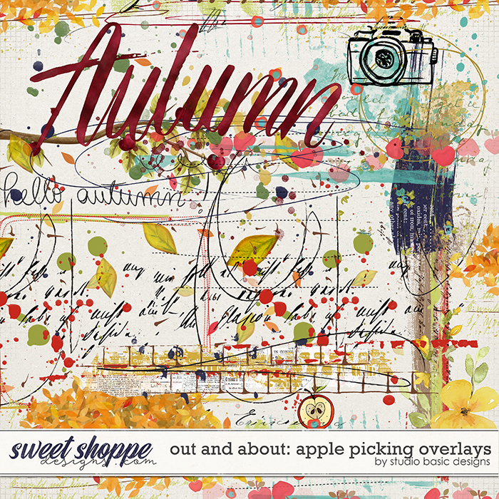 Out And About: Apple Picking Overlays by Studio Basic Designs