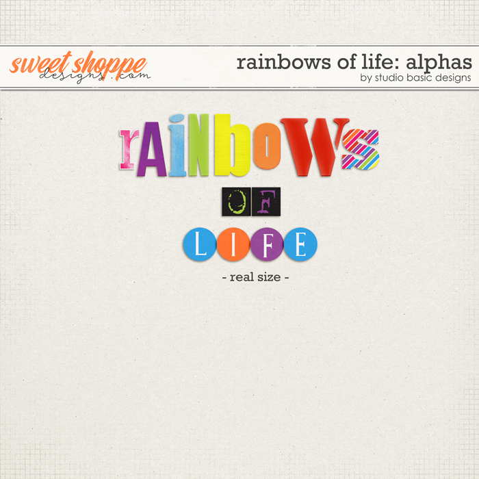 Rainbows Of Life: Alphas by Studio Basic