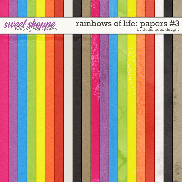 Rainbows Of Life: Papers #3 by Studio Basic