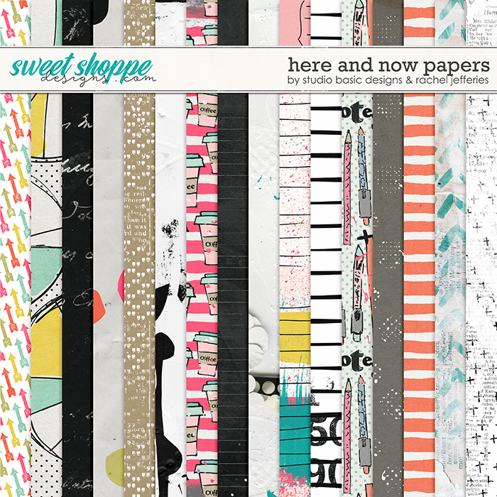 Here And Now Papers by Studio Basic Designs and Rachel Jefferies