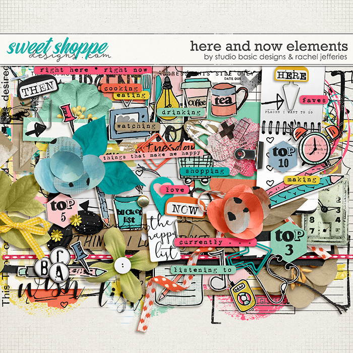 Here And Now Elements by Studio Basic Designs and Rachel Jefferies