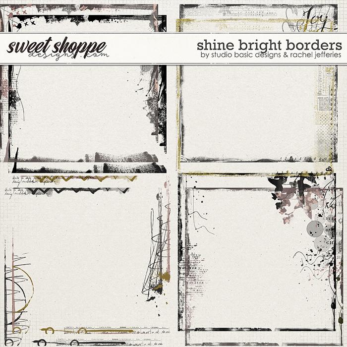 Shine Bright Borders by by Studio Basic Designs & Rachel Jefferies