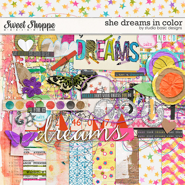 She Dreams In Color by Studio Basic