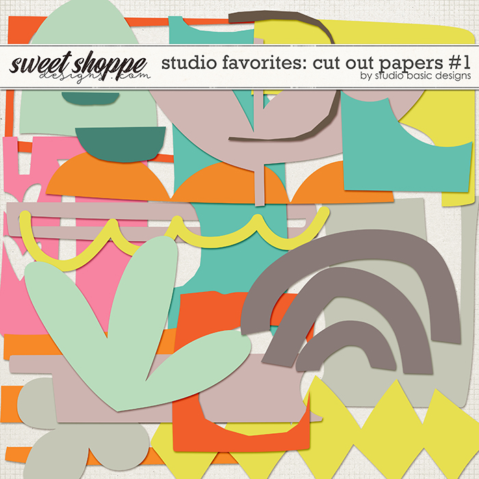 Studio Favorites: Cut Out Papers #1 by Studio Basic
