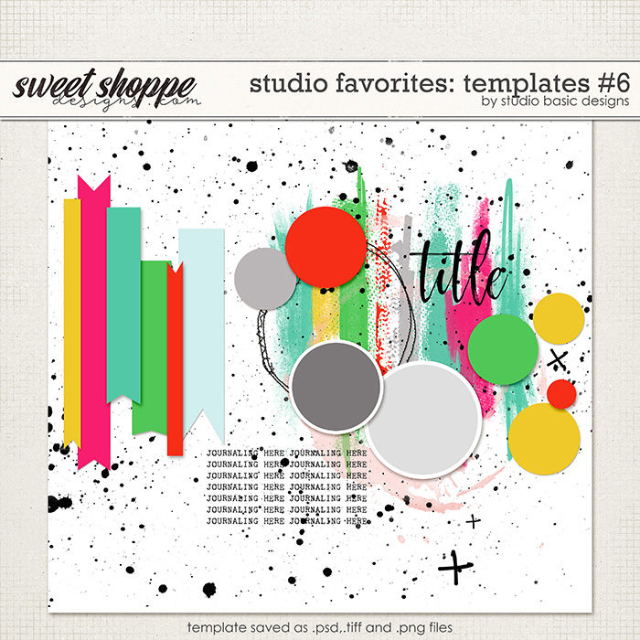Studio Favorites: Templates #6 by Studio Basic