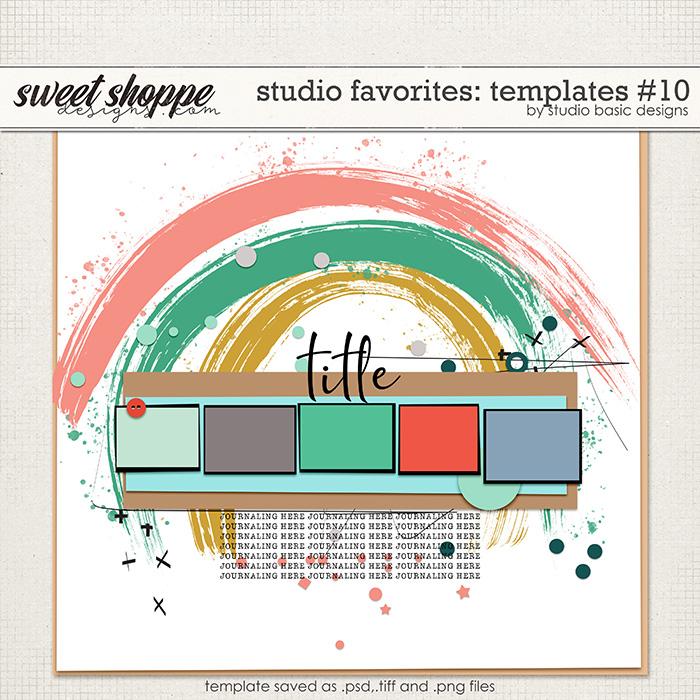 Studio Favorites: Templates #10 by Studio Basic
