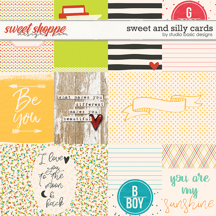Sweet & Silly Cards by Studio Basic