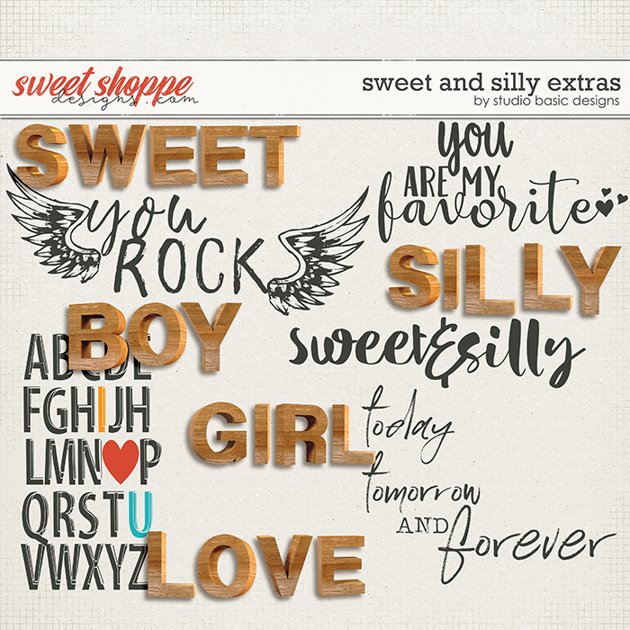 Sweet & Silly Extras by Studio Basic