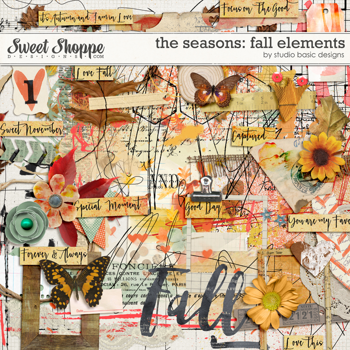 The Seasons: Fall Elements by Studio Basic