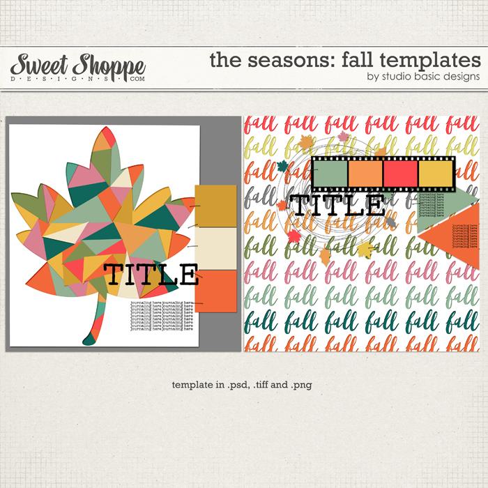 The Seasons: Fall Templates by Studio Basic