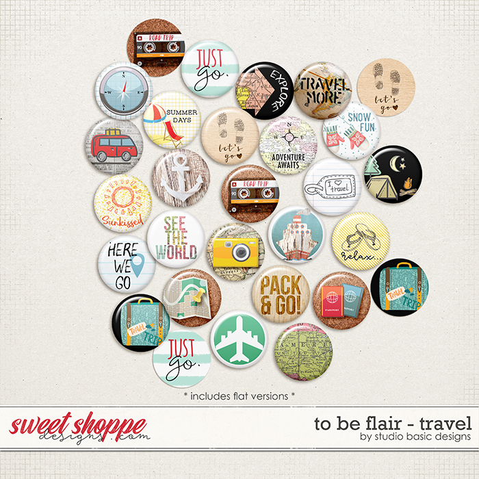 To Be Flair -Travel by Studio Basic