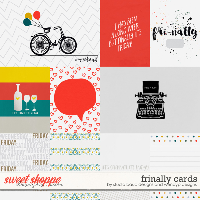 Frinally Cards by Studio Basic and WendyP Designs