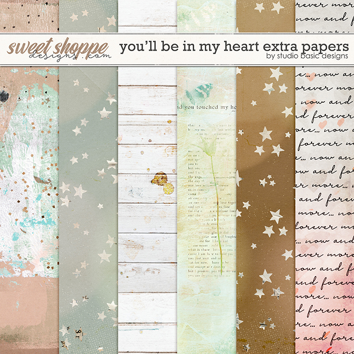 You'll Be In My Heart Extra Papers by Studio Basic