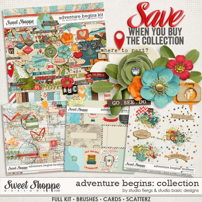 Adventure Begins: BUNDLE by Studio Basic Designs & Studio Flergs