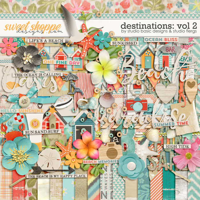 Destinations: Vol 2 - Kit by Studio Basic and Studio Flergs