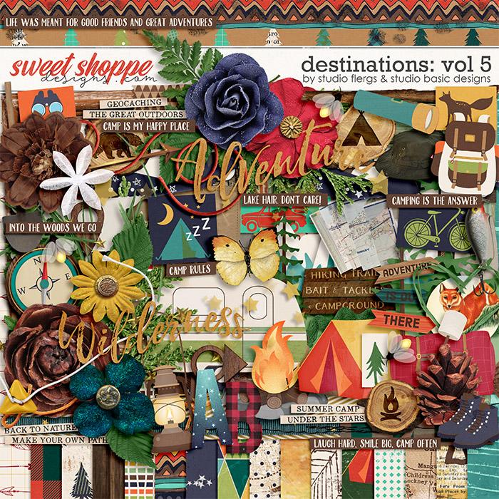 Destinations: Vol 5 - Kit by Studio Basic and Studio Flergs