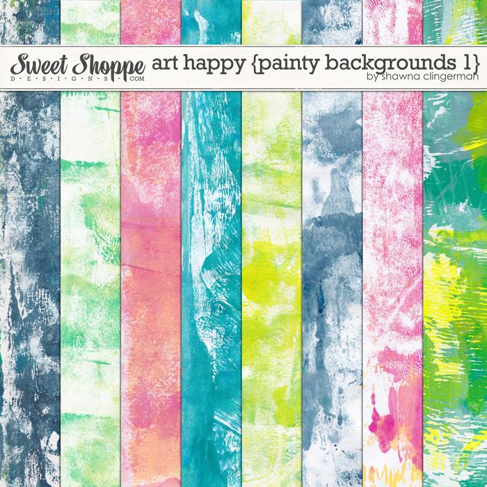 Art Happy: Basic Backgrounds 1 by Shawna Clingerman