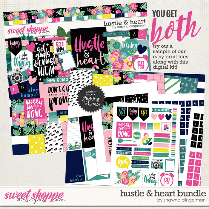 *FREE with your $10 Purchase* Hustle & Heart Bundle by Shawna Clingerman