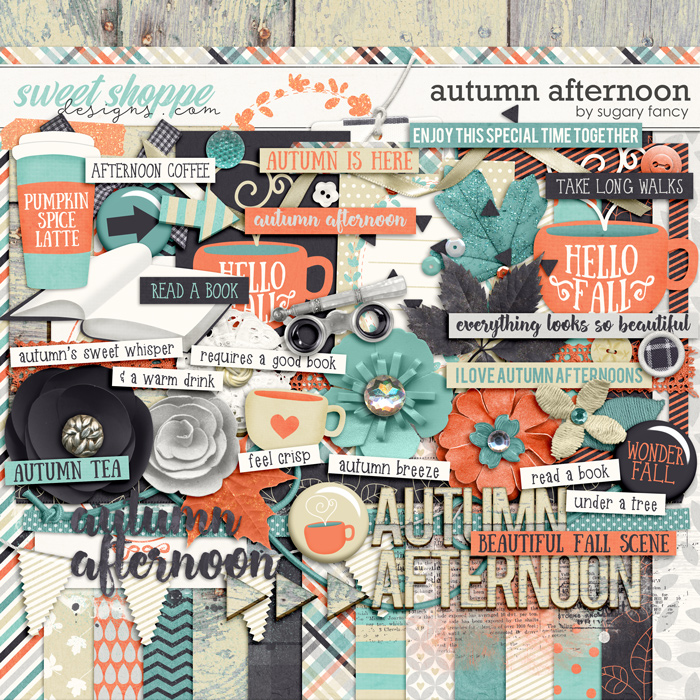 Autumn Afternoon Kit by Sugary Fancy