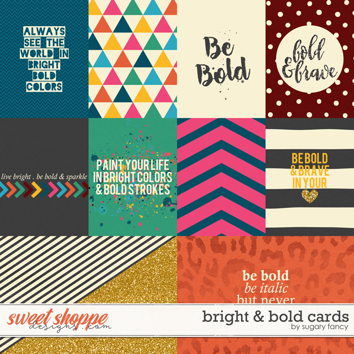 Bright & Bold Cards by Sugary Fancy