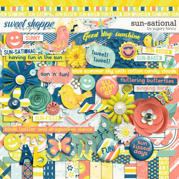 Sun-Sational Kit by Sugary Fancy