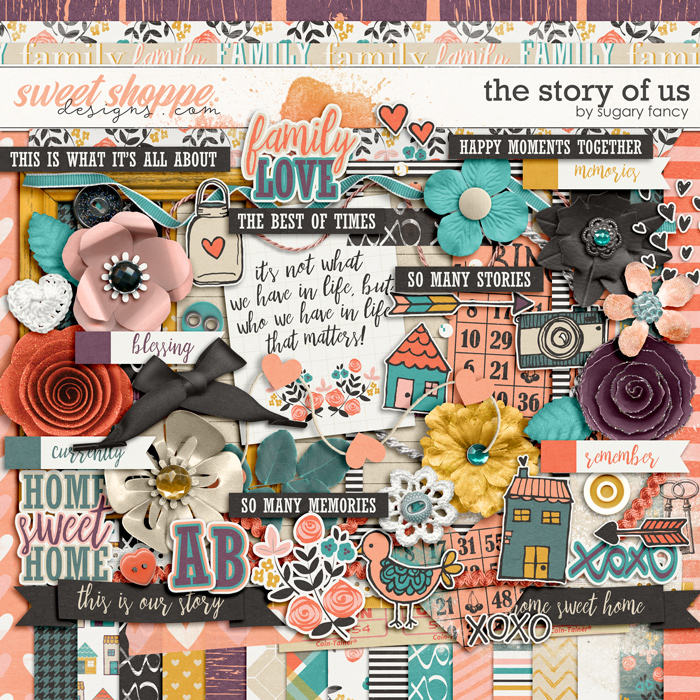 The Story of Us Kit by Sugary Fancy
