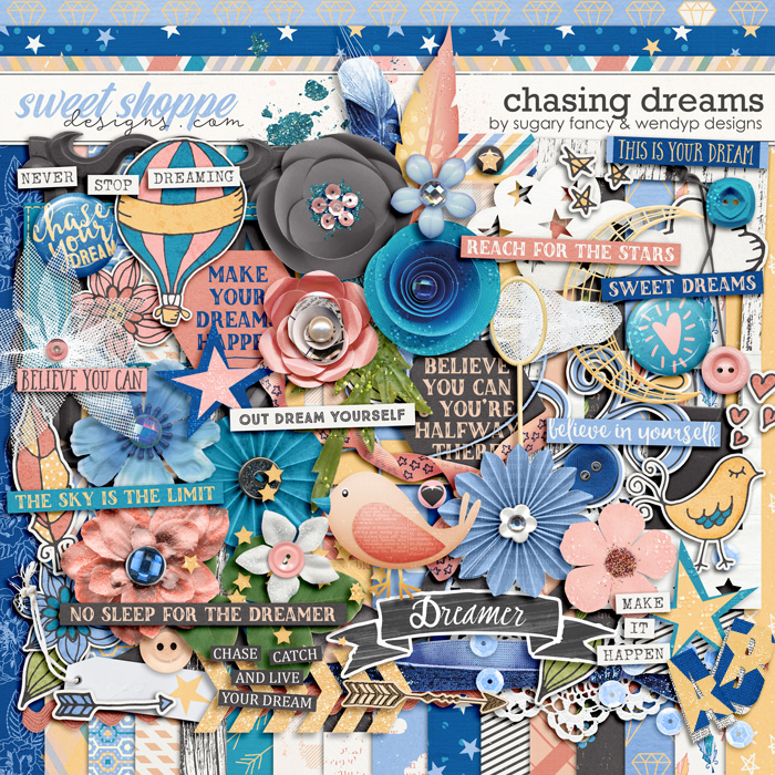 Chasing Dreams by Sugary Fancy and WendyP Designs