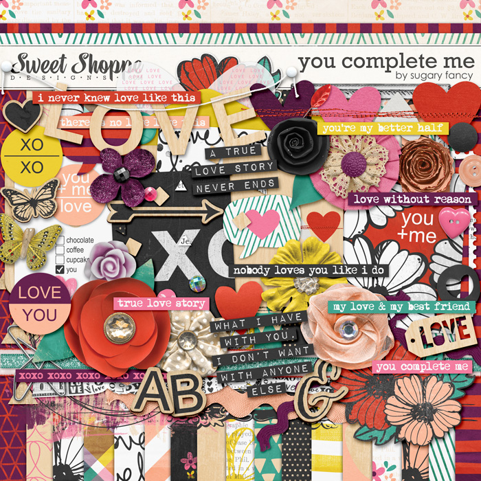You Complete Me Kit by Sugary Fancy