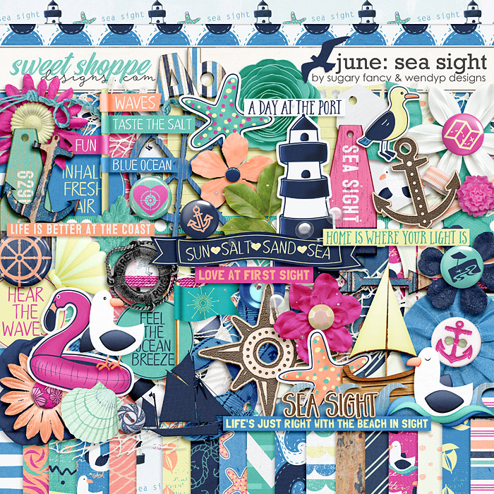June: Sea Sight by Sugary Fancy and WendyP Designs