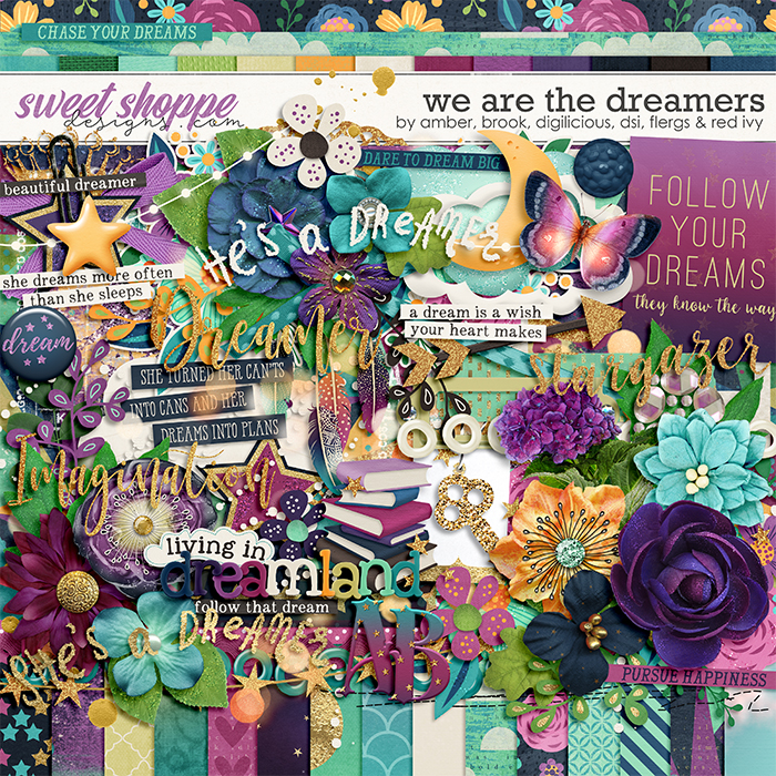 *OFFER EXPIRED* Sixlet #2 - We are the Dreamers by Alice, Amber, Brook, Christine, Flergs & Willemijne