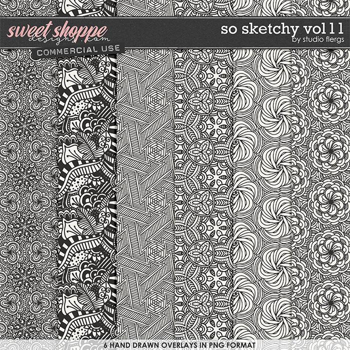 So Sketchy VOL 11 by Studio Flergs
