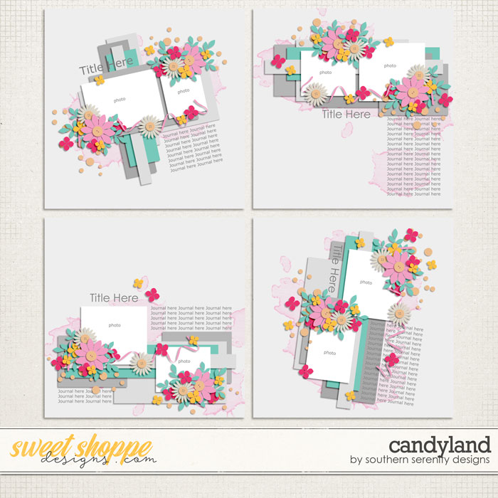 Candyland Layered Templates by Southern Serenity Designs
