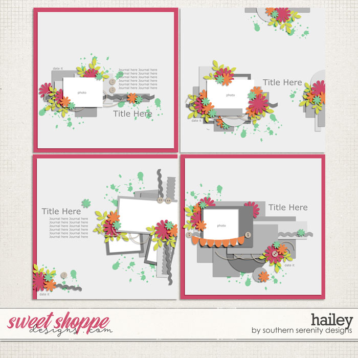 Hailey Layered Templates by Southern Serenity Designs