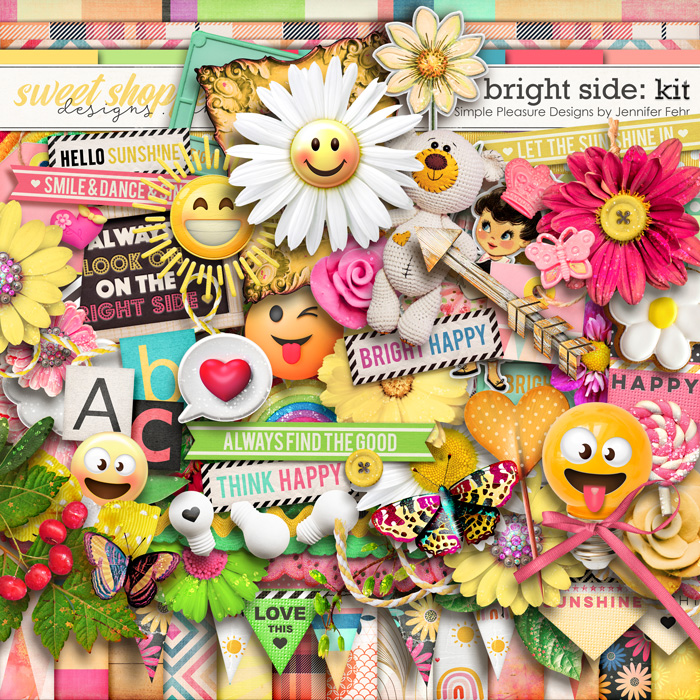 bright side kit: simple pleasure designs by jennifer fehr