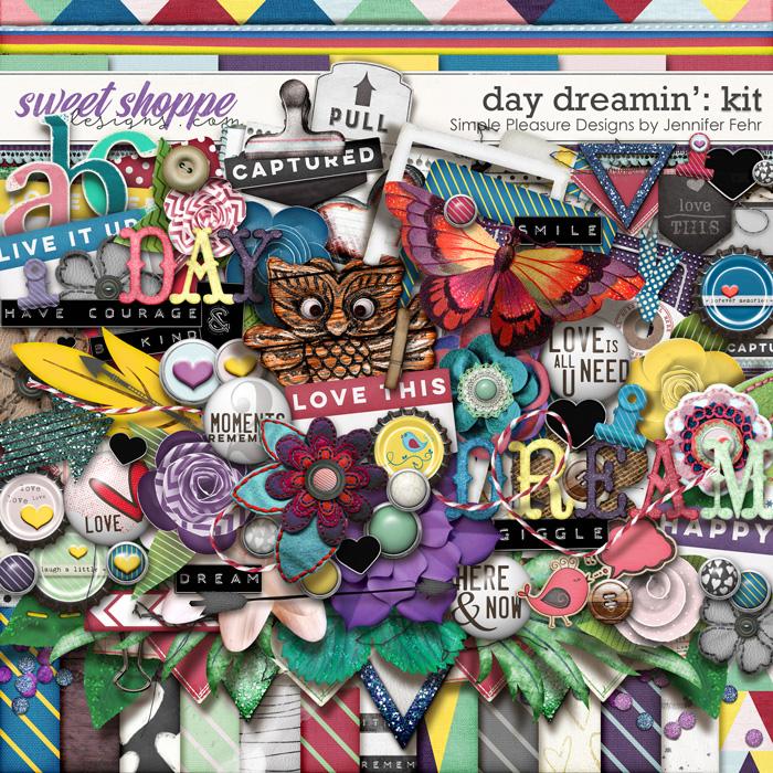 day dreamin kit: simple pleasure designs by jennifer fehr