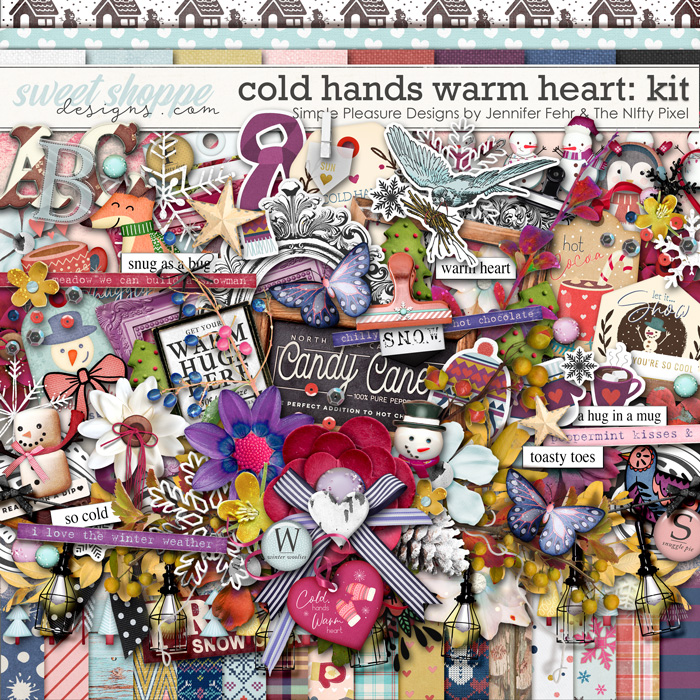 cold hands warm heart kit: simple pleasure designs & the nifty pixel