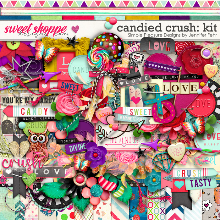 candied crush kit: Simple Pleasure Designs by Jennifer Fehr