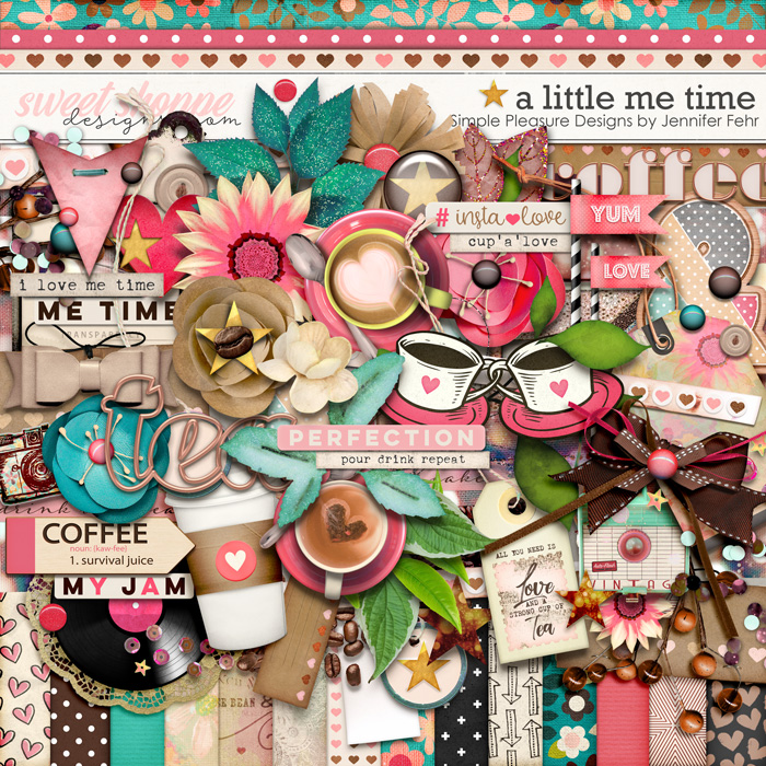 a little me time kit: Simple Pleasure Designs by Jennifer Fehr